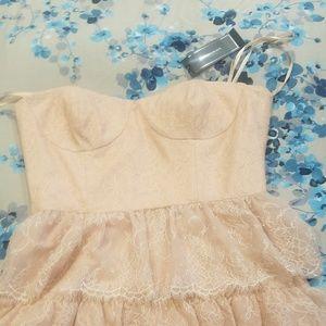 BCBG Dresses - BCBG strapless mini dress Size 12